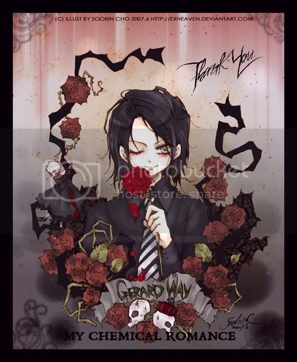 one of my fav anime pics. of gerard way